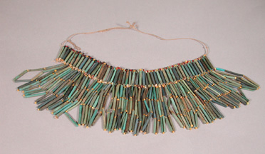 600-200 BC Egyptian Fainence Necklace